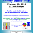 FamilyGameDay Flyer